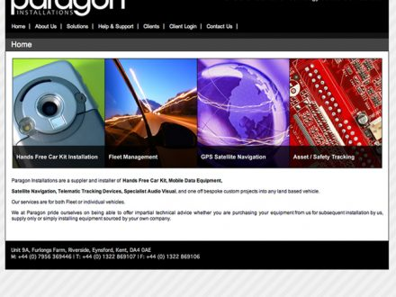 Paragon Site Design
