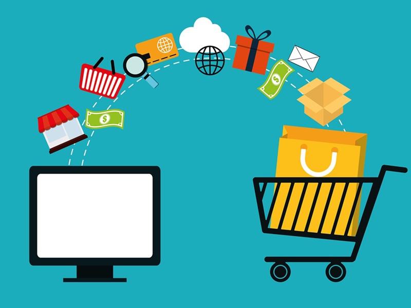 Online shop design & admin