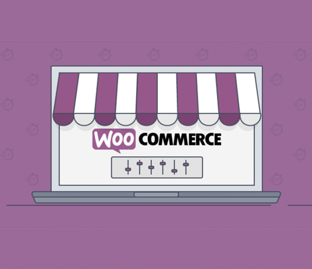 Online shop website with Woocommerce