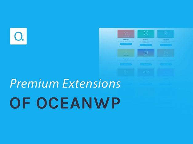 Wordpress website design with Oceanwp