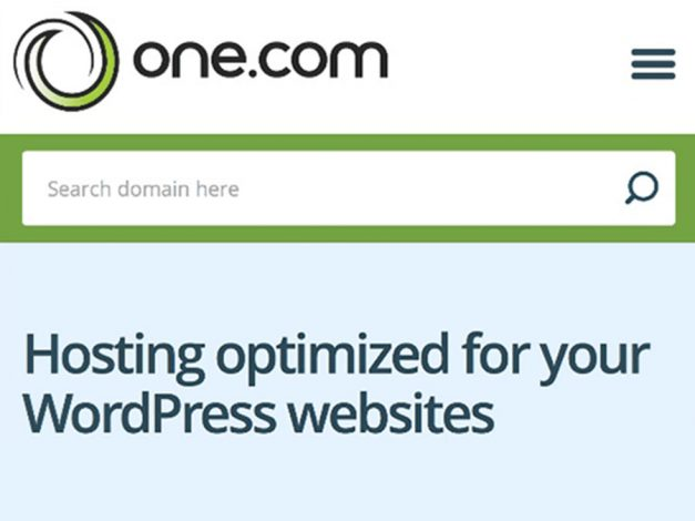 One dot Com Wordpress Hosting
