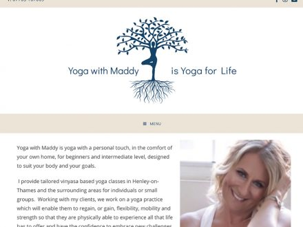 Yoga with Maddy SIte
