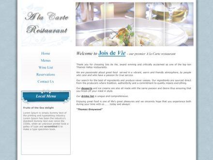 A la Carte Site Design