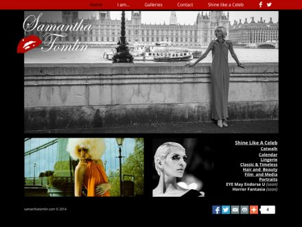 Actress Site Design