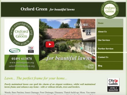 Oxford Green Site Design